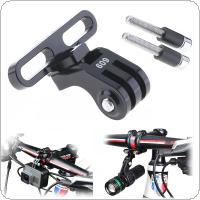 GUB 609 Ultralight Aluminum Alloy Bicycle Camera Holder Fit for GoPro Camera