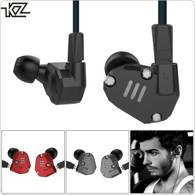 KZ Z36 3.5mm Detachable HIFI Aluminum Alloy In-ear Type Headset with 8 Unit Coil Iron Mixing Configuration