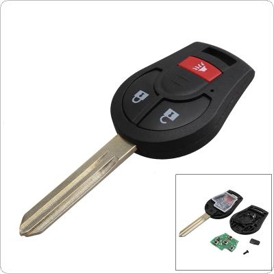 315Hz 3 Buttons Replacement Remote Car Key Fob Transmitter Clicker Alarm with Key for Nissan CWTWB1U751