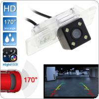 CCD HD 480TVL 170 Degrees Wide Angle Auto Car Rearview Camera Reverse Backup Parking Camera  for Audi