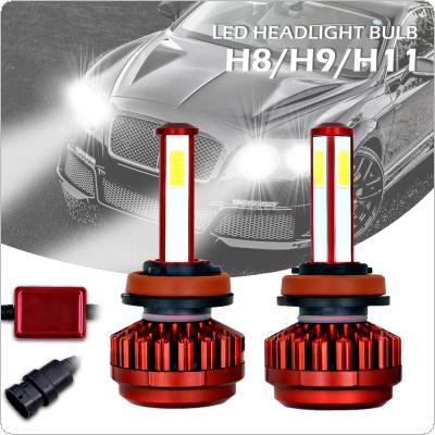 100W H8 H9 H11 12000LM 6000K All-In-One LED Headlight Kit High/Low Beam Bulbs Automotive LED Headlamps for Cars