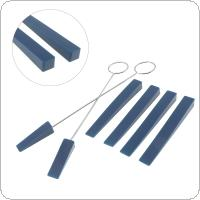 6pcs/set Professional Piano Tuning Rubber Mutes Kit Bass Stop Tool Tuning Tool for Piano Part