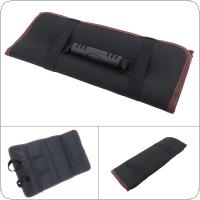Multifunctional Oxford Canvas Chisel Roll Rolling Repairing Tool with Carrying Handles for Repairing Tools