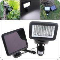Outdoor Waterproof 4W 120 LED PIR Motion Sensor Solar Power Panel Flood Security Garden Light with 3 Modes for Wall / Garden / Emergency