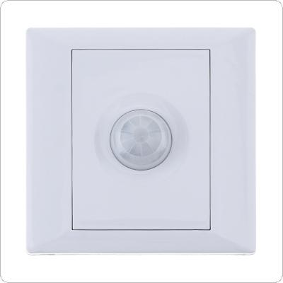 Automatic Human PIR Infrared Motion Sensor Switch with Voice Control and Light Control for Household Hotel