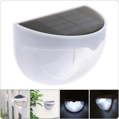 Waterproof Solor LED Wall Lamp Night Light with Motion Sensor and Semi-circle Type for Garden / Staircase / Door