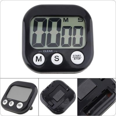 Multifunction Electronic Digital Timer with Large LCD Display and Bell Prompt for Kitchen