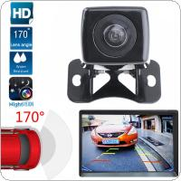 CMOS Waterproof Night Vision Car Camera Rear View Adjustable Butterfly Parking Reversing Camera