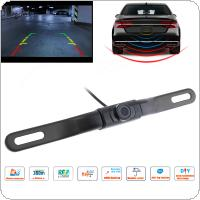CMOS Waterproof Car Rear View Reverse Backup Hidden Camera Night Vision Parking Reversing Assistance