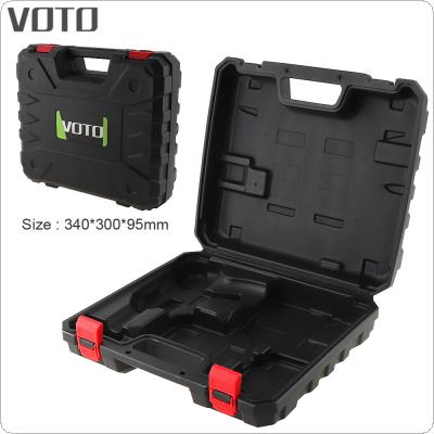 VOTO Power Tool Suitcase Electric Drill Dedicated Plastic Tool Box with 340mm Length and 300mm Width for Lithium Drill / Electric Wrench