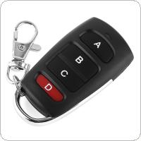 European Universal 433 Copy Wireless Super Copy Remote Control Four Button Remote ABCD with Keychain