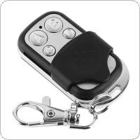Universal 4 Channel Wireless Cloning Electric Gate Garage Door Remote Control 433MHz Switch with Keychain