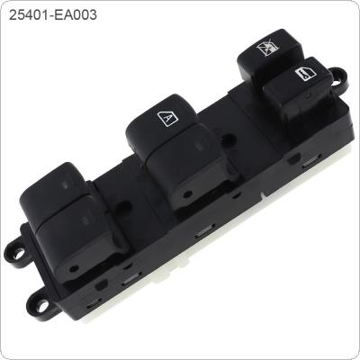 Car Window Lifting Switch Electric Window Switch Folding 25401-EA003 for 2005-2008 Nissan Frontier Xterra