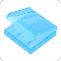 Portable Plastic Lithium Battery Box with Protective and Storage Function for AAA Battery