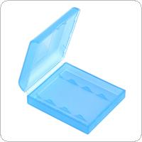 Portable Plastic Lithium Battery Box with Protective and Storage Function for AA Battery
