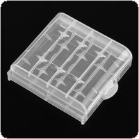 Portable Plastic Lithium Battery Box with Protective and Storage Function for 10440 Battery