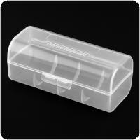 Portable Plastic Lithium Battery Box with Protective and Storage Function for 26650 Battery