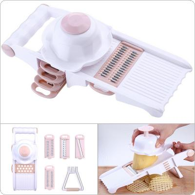 Multi-function Plastic Shredder Vegetable Fruit Slicers Cutter with Adjustable Stainless Steel Blade for Kitchen Carrot Potato Onion Grater