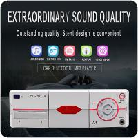 Bluetooth Car Radio MP3 Player Vehicle Stereo Audio Support FM / USB / SD / AUX with Remote Control