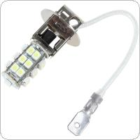 H3 12V 2W 25 x SMD LED Super Bright White Light Car Fog Lamp