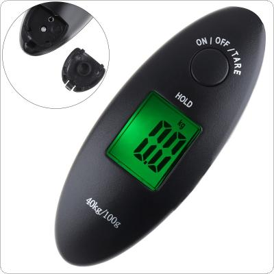40kg / 100g Charming Portable Mini Hand Digital Electronic Scale with LCD Display