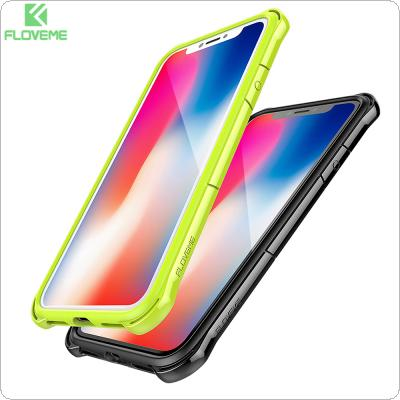 FLOVEME 2In1 PC + TPU Anti-drop Shockproof Phone Case For iPhone X