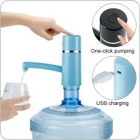 Chargable Electric Wireless Bottled Water Pump Machine with Key Type and 360 Degree Rotation for Home Office Use