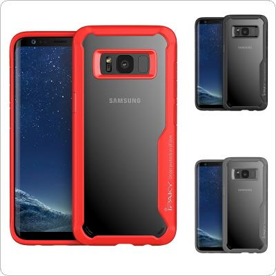 IPAKY PC + TPU Transparent Anti-drop Phone Cases for Samsung S8