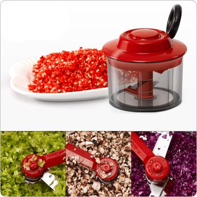 Manual Vegetable Garlic Crusher Cutter  Food Processor Chopper Blender Slicer for Kitchen Tools