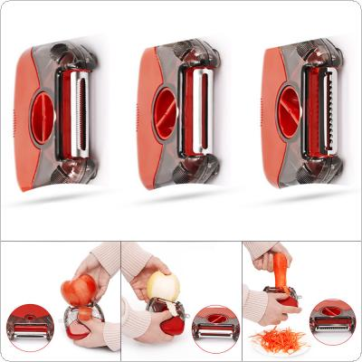 Multifunctional 3 in 1 Vegetable Cutter Fruit Peeler Potato Carrot Grater for Kitchen Tools