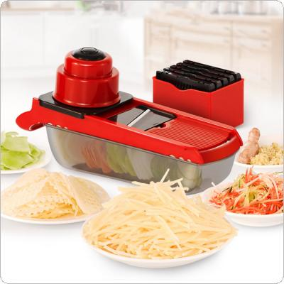 Manual Plastic Vegetable Fruit Slicers & Cutter With Adjustable Blades Carrot Potato Onion Grater for Kitchen Tools