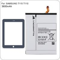 EB-BT111ABE 3.8V 3600mAh Rechargeable Built-in Li-ion Replacement Tablet Battery Fit for Samsung GALAXY Tab 3 T110 T111 T310 T311 T315 T115 T110