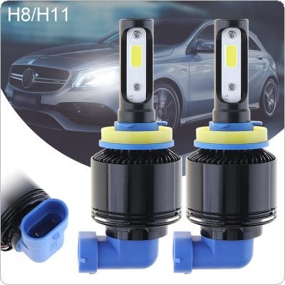 72W H8 H11 8000LM 6000K All-In-One without Line LED Headlight Kit High/Low Beam Bulbs Automotive LED Headlamps for Cars