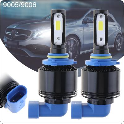72W 9005 9006 8000LM 6000K All-In-One without Line LED Headlight Kit High/Low Beam Bulbs Automotive LED Headlamps for Cars