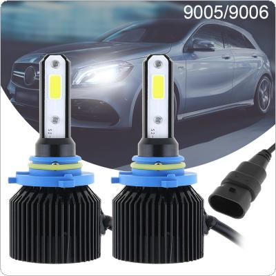 72W 9005 9006 8000LM 6000K All-In-One LED Headlight Kit High/Low Beam Bulbs Automotive LED Headlamps for Cars