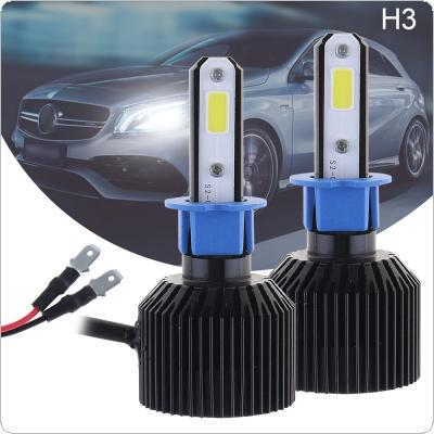 72W H3 8000LM 6000K All-In-One LED Headlight Kit High/Low Beam Bulbs Automotive LED Headlamps for Cars
