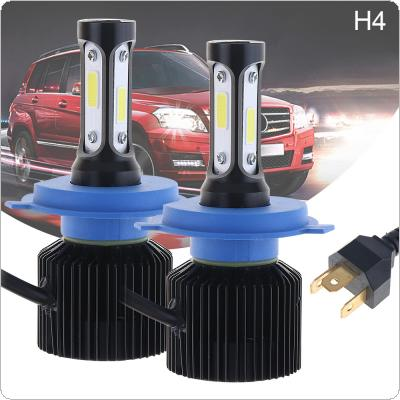 72W H4 HB2 9003 8000LM 6000K All-In-One LED Headlight Kit High/Low Beam Bulbs Automotive LED Headlamps for Cars