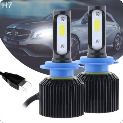 72W H7 8000LM 6000K All-In-One LED Headlight Kit High/Low Beam Bulbs Automotive LED Headlamps for Cars
