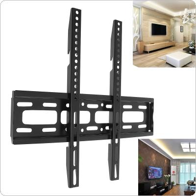Universal 50KG TV Wall Mount Bracket Fixed Flat Panel TV Frame with Level Instrument for 26-65 Inch LCD LED Monitor Flat Panel
