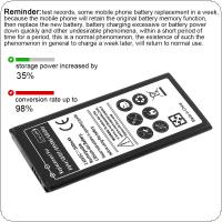 3.85V 2500mAh Rechargeable Built-in Li-ion Replacement Battery Phone Accumulator Fit for Samsung