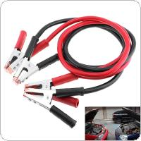 1.8M 300A 8MM Copper Clad Aluminum Car Emergency Ignition Jump Starter Leads Wire Battery Booster Cable