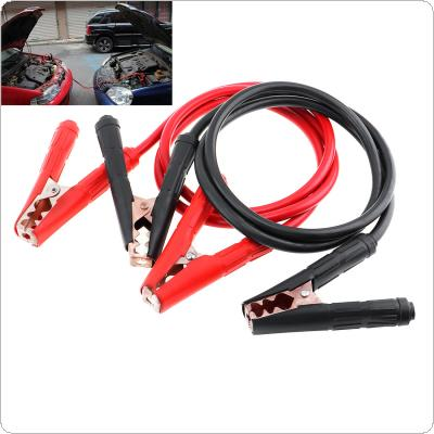 2M 500A 12MM Copper Clad Aluminum Car Emergency Ignition Jump Starter Leads Wire Battery Booster Cable