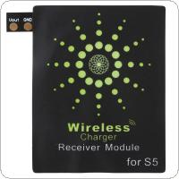 Qi Standard Wireless Charger Receiver Module Fit for Samsung Galaxy S5 / i9600 / i9700