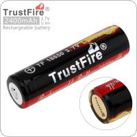 TrustFire 3.7V 18650 2400mAh Li-ion Rechargeable Battery with Protected PCB for LED Flashlights / Headlamps