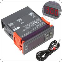 Mini DC12V LCD Digital Temperature Controller Thermostat with Relay Warning Function