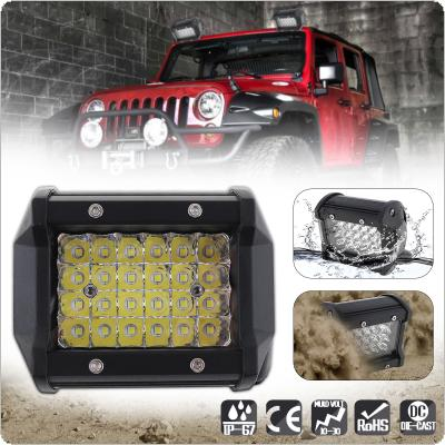 4 Inch 72W 10800LM  Car Work Light with Four Rows light Bars for Off-road Car / Pickup / Wagon