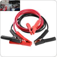 2.5M 500A 10MM Copper Clad Aluminum Car Emergency Ignition Jump Starter Leads Wire Battery Booster Cable