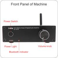 LP-3116 100-240V  50W x 2 Hi-Fi Stereo Class-D Digital  High Power Amplifier Support Bluetooth / RCA Automatic Switching Technology