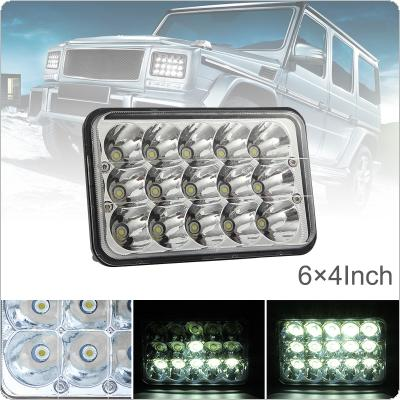 4X6 Inch Rectangular LED Headlights Fit for Jeep Wrangler YJ Cherokee XJ Trucks 4X4 Offroad Headlamp