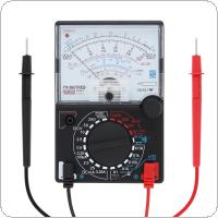 YX- 360TRNB Mini Portable Poin-ter Multimeter with One Pair Test Pen for Measuring DC AC Voltage and DC Current
